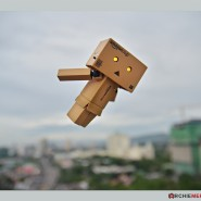 Danbo flying…