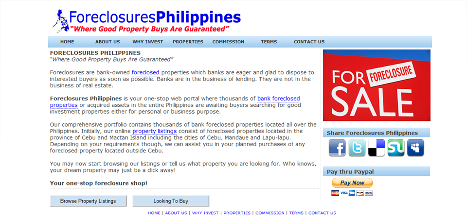 Foreclosures Philippines – Official Website