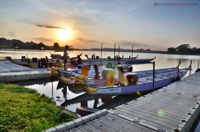 Dragon Boat MR500 Festival 2013 Lower Seletar Reservoir March 2013 (3) - sunrise shoot