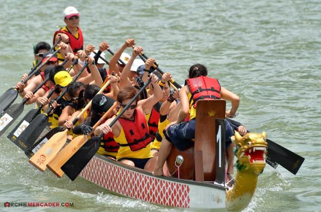 Dragon Boat MR500 Festival 2013 Lower Seletar Reservoir March 2013 (4) -paddlers