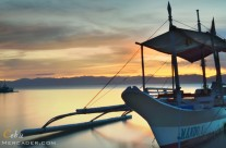 Chasing sunset @ Bas Dako, Moalboal, Cebu