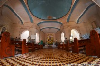 Inside the San Fernando Rey Parish Church