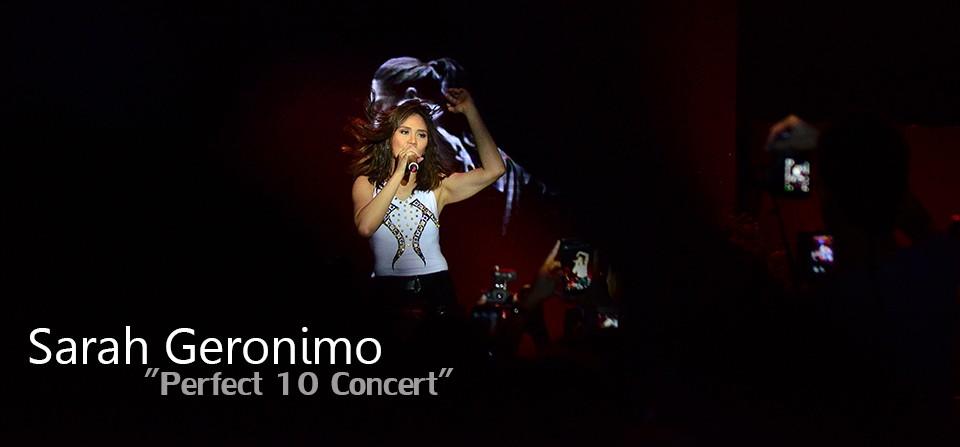 Sarah Geronimo Live Concert in Cebu